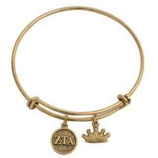Zeta Tau Alpha Expandable Bracelet