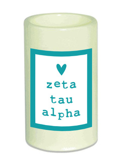Zeta Tau Alpha Flameless Candle