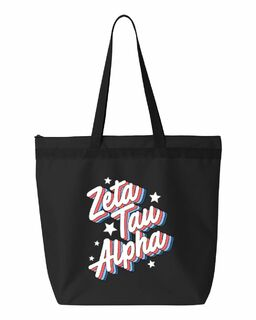 Zeta Tau Alpha Flashback Tote Bag