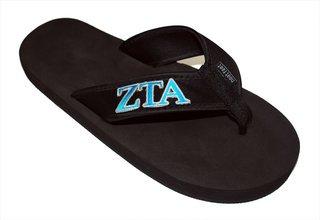 Zeta Tau Alpha Flip Flops