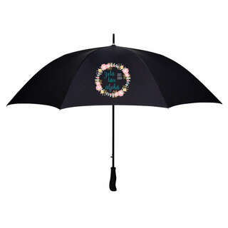 Zeta Tau Alpha Floral Umbrella