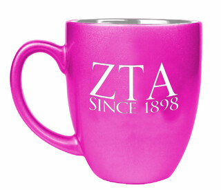 Zeta Tau Alpha Greek Bistro Mug