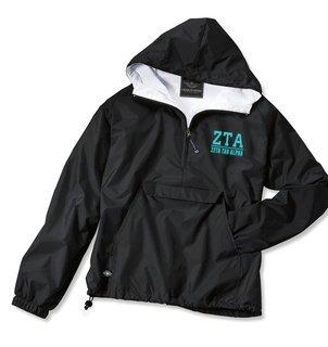 Zeta Tau Alpha Greek Letter Anoraks