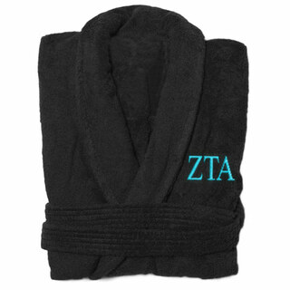 Zeta Tau Alpha Greek Letter Bathrobe