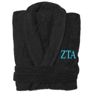 Zeta Tau Alpha Greek Letter Bathrobe