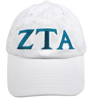 Zeta Tau Alpha Greek Letter Hat