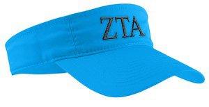 Zeta Tau Alpha Greek Letter Visor