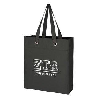 Zeta Tau Alpha Grommet Tote Bag