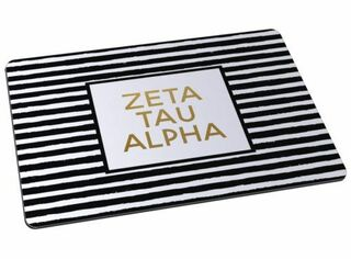 Zeta Tau Alpha Striped Mousepads