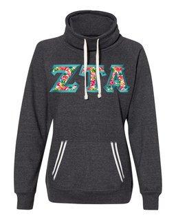 Zeta Tau Alpha J. America Relay Cowlneck Sweatshirt