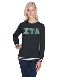 Zeta Tau Alpha J. America Relay Crewneck Sweatshirt