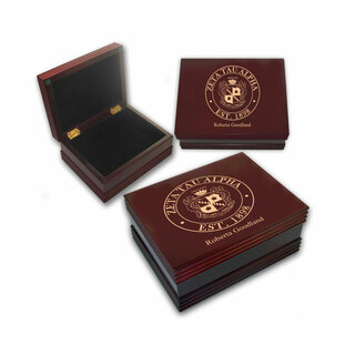 Zeta Tau Alpha Keepsake Box
