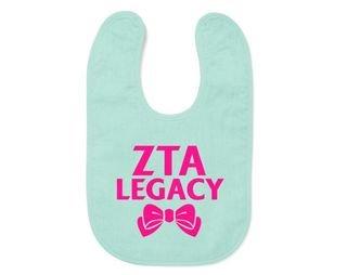 Zeta Tau Alpha Legacy Bib