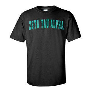Zeta Tau Alpha Letterman T-Shirts