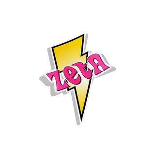 Zeta Tau Alpha Lightning Bolt Decal