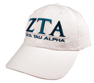 Zeta Tau Alpha World Famous Line Hat