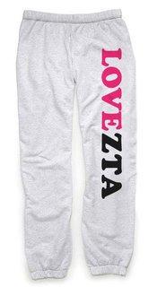 Zeta Tau Alpha Love Sweatpants