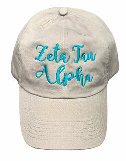 Zeta Tau Alpha Magnolia Skies Ball Cap