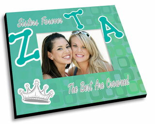 Zeta Tau Alpha Mascot Color Picture Frame