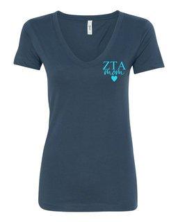 Zeta Tau Alpha Mom Ideal V-Neck