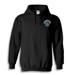 Zeta Tau Alpha Crest Emblem Hooded Sweatshirt