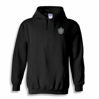 Zeta Tau Alpha Patch Crest Hooded Sweatshirt