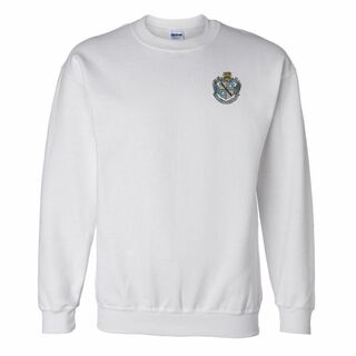 Zeta Tau Alpha Patch Crest Sweatshirt
