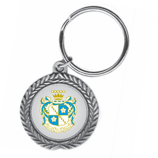 Zeta Tau Alpha Pewter Key Ring