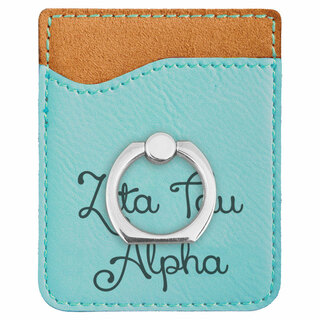 Zeta Tau Alpha Phone Wallet with Ring