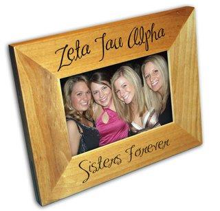 Zeta Tau Alpha Picture Frames
