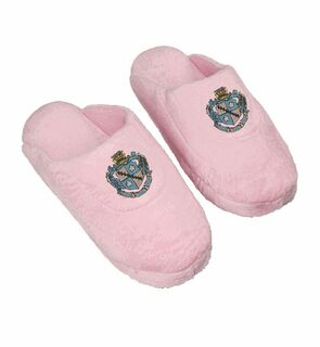 Zeta Tau Alpha Pink Solid Slipper