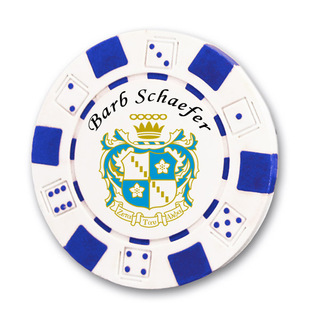 Zeta Tau Alpha Poker Chips