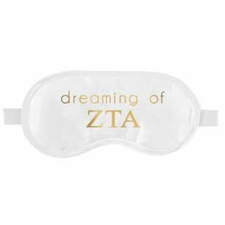 Zeta Tau Alpha Satin Sleep Masks