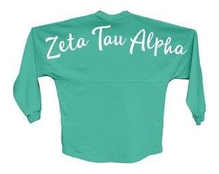 Zeta Tau Alpha Script Jersey