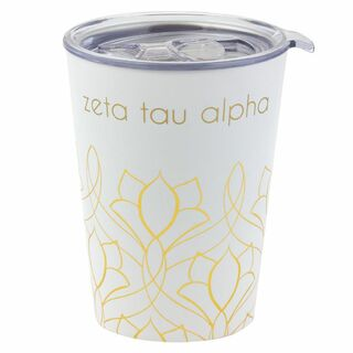 Zeta Tau Alpha Short Coffee Tumblers