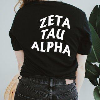 Zeta Tau Alpha Social Tee