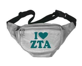 Zeta Tau Alpha Sorority Fanny Pack