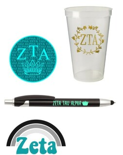 Zeta Tau Alpha Sorority For Starters Collection $9.99