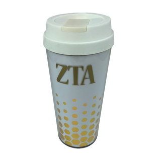Zeta Tau Alpha Sparkle Coffee Tumblers