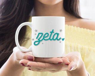 Zeta Tau Alpha Star Mug