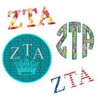 Zeta Tau Alpha Sticker Grab Bag