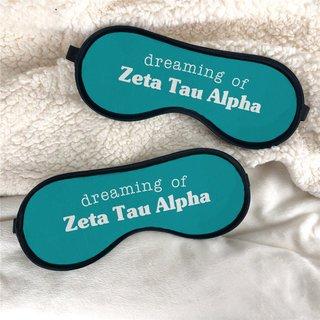 Zeta Tau Alpha Sweet Dreams Eye Mask