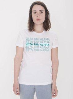 Zeta Tau Alpha Thank You For Shopping Tee - Comfort Colors