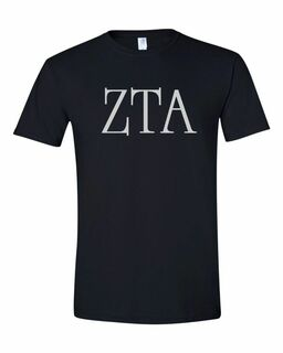 Zeta Tau Alpha University Greek T-Shirts