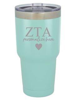Zeta Tau Alpha Vacuum Insulated Tumbler