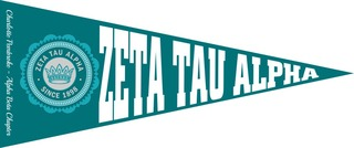 Zeta Tau Alpha Wall Pennants