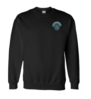 DISCOUNT-Zeta Tau Alpha World Famous Crest - Shield Crewneck Sweatshirt