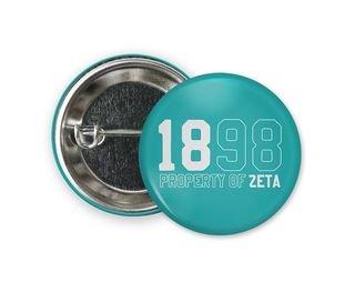 Zeta Tau Alpha Year Button