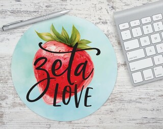 Zeta Tau Alpha Zeta Love Mousepad