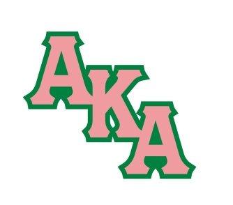 Alpha Kappa Alpha Acrylic Pin